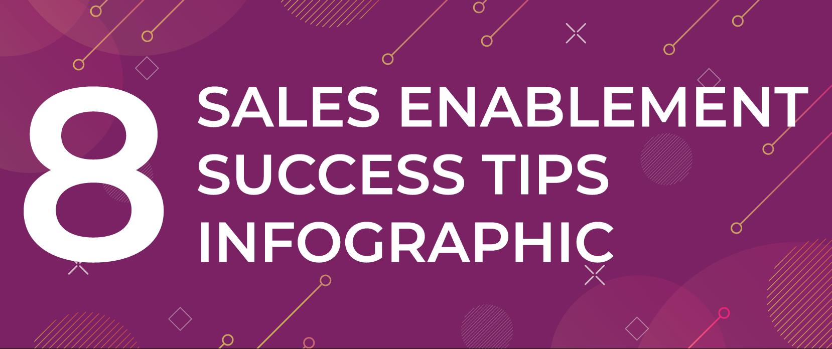 8 Sales Enablement Success Tips