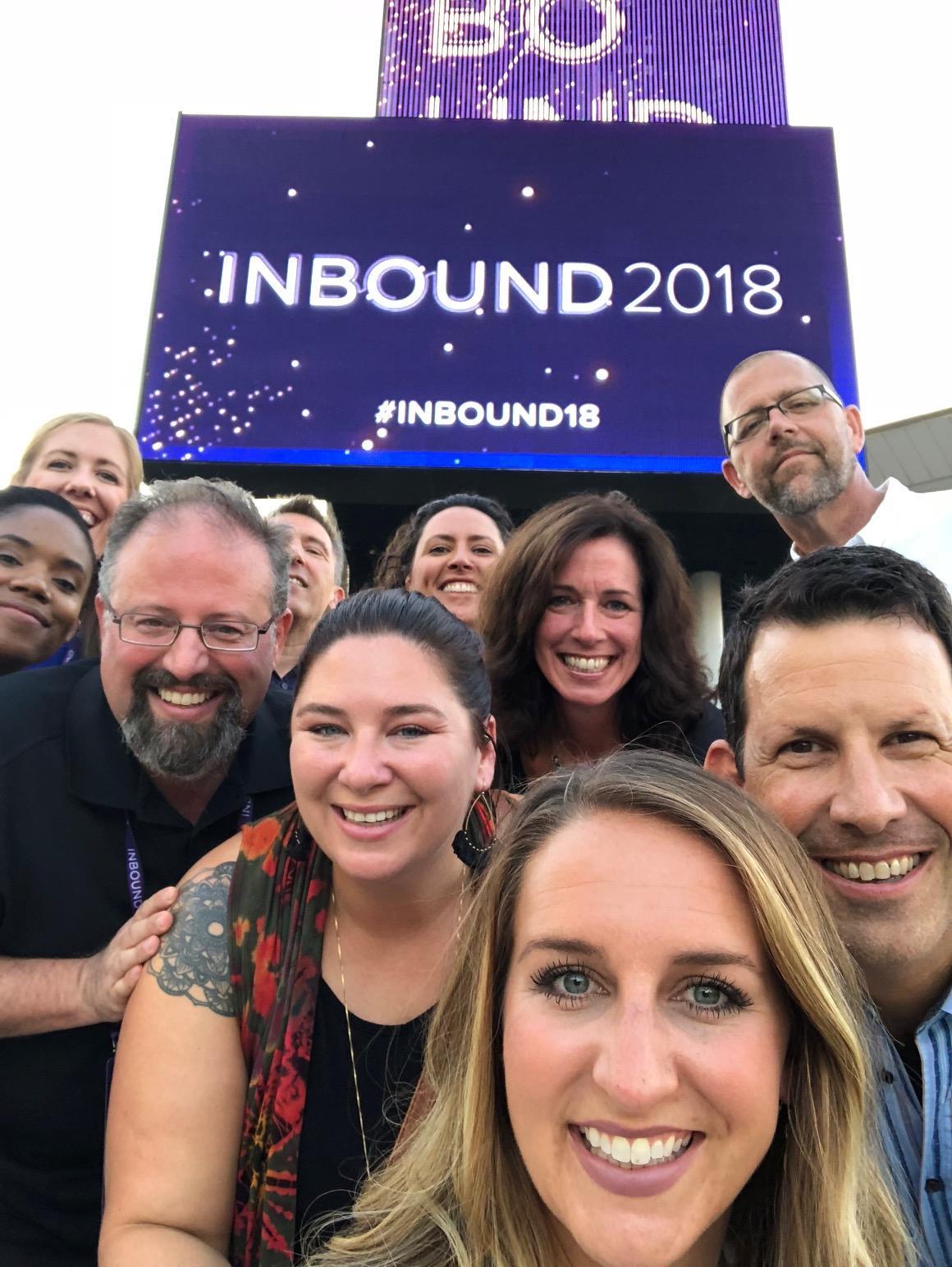 LeadG2 Team at Inbound 2018