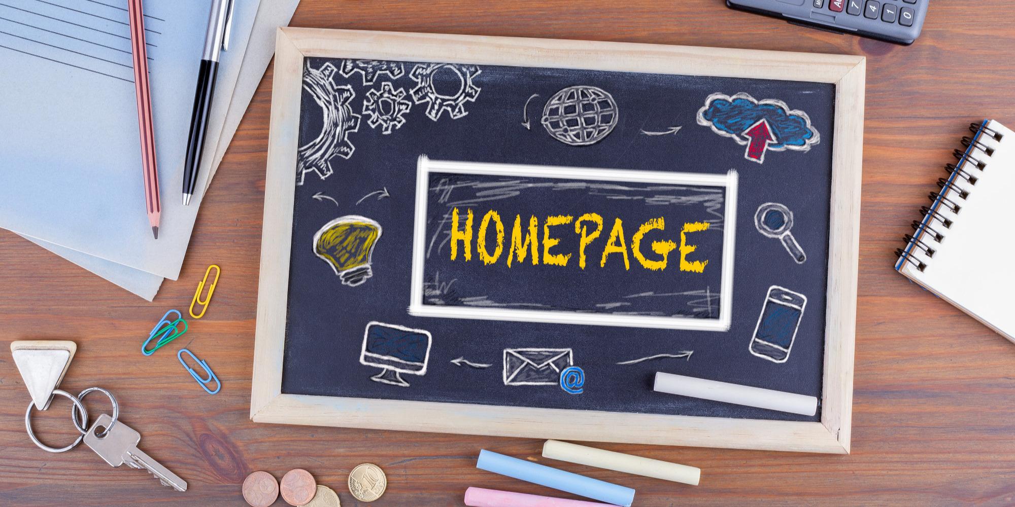 Landing Page vs Homepage