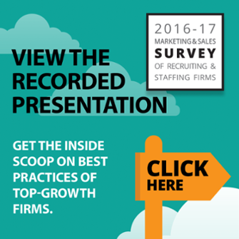 recruiting and staffing firm Survey results presentation