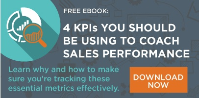 The 4 KPIs You Should be Using to Coach Sales Performance
