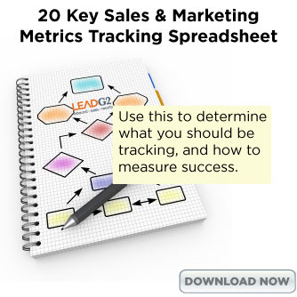 20 key sales and marketing metrics tracking spreadsheet