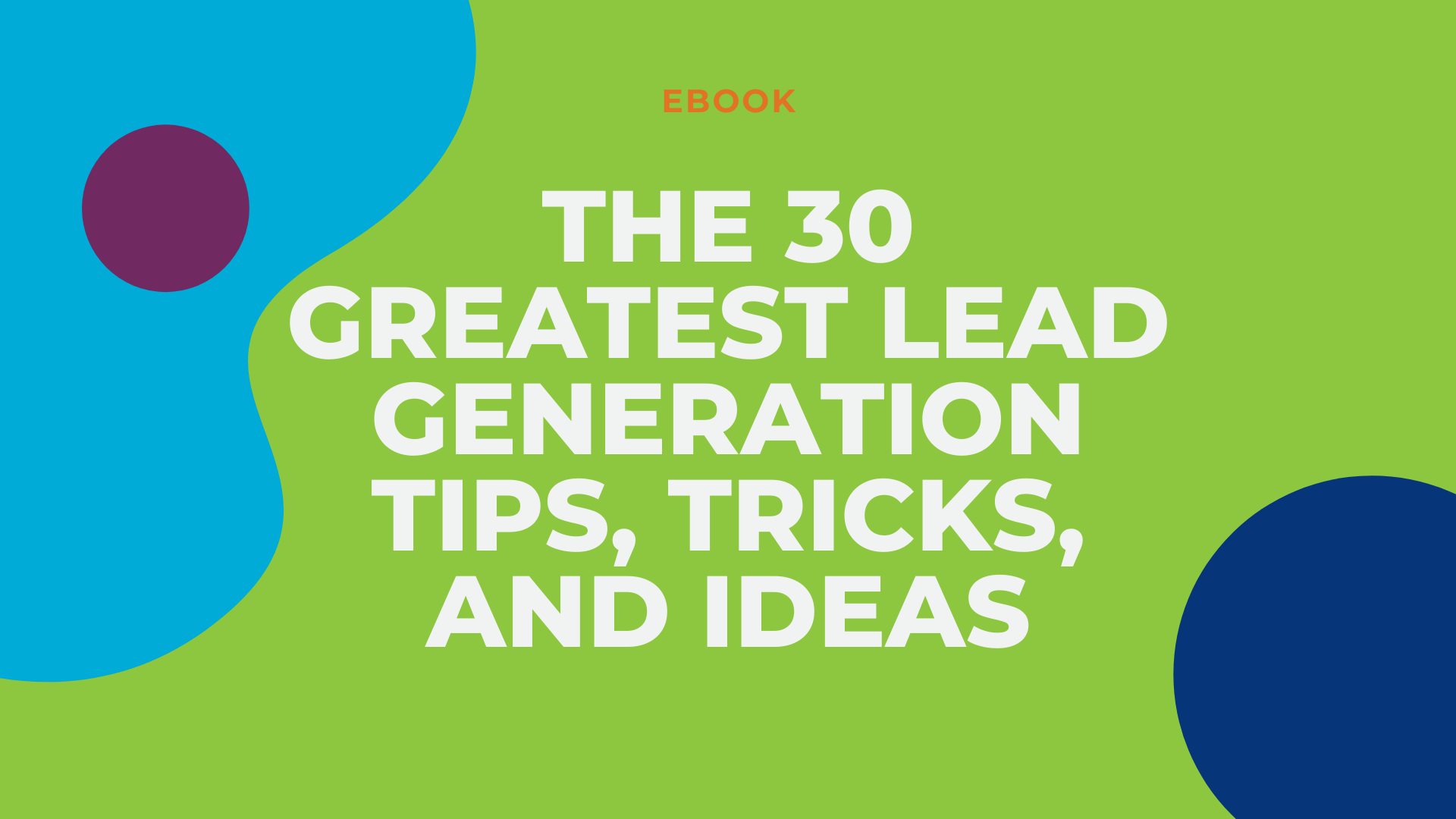 LG2 Website Resource - 30 greatest lead gen tips ebook