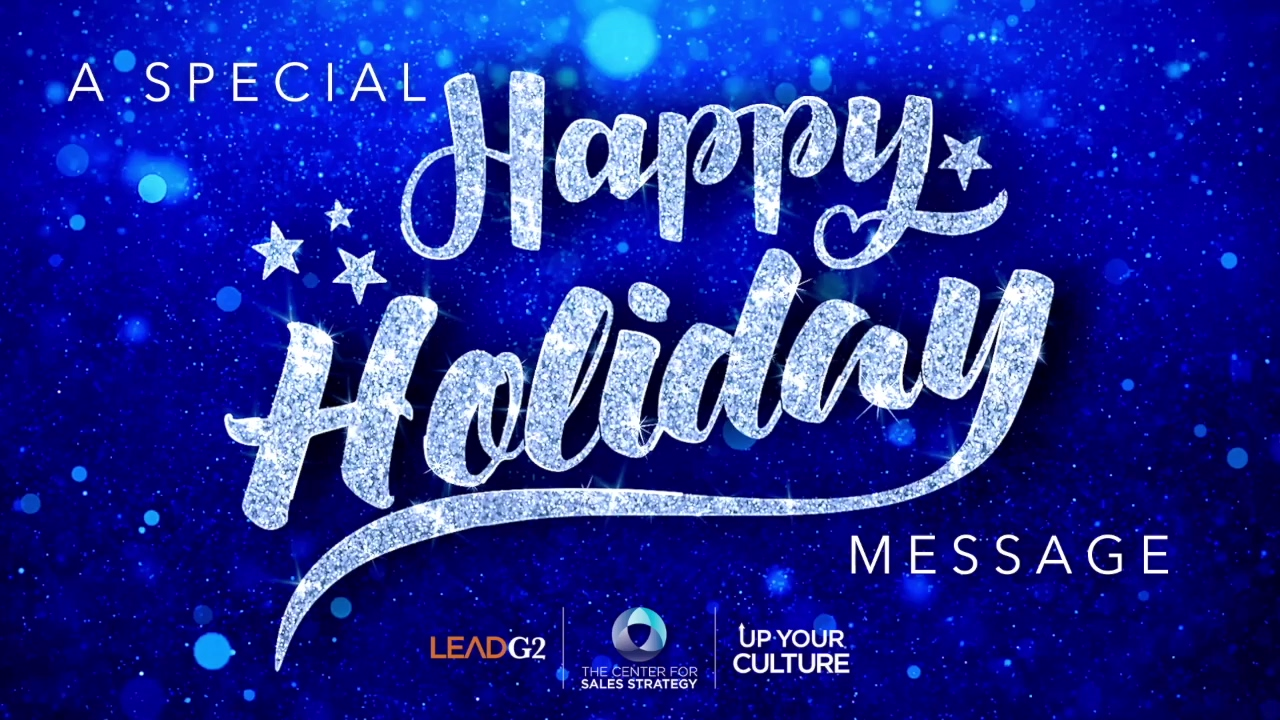 Happy Thanksgiving from All of Us at LeadG2 and The Center for Sales Strategy!
