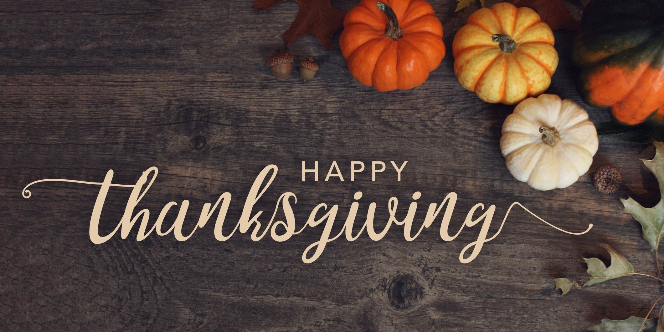 Thankful. Grateful. Blessed. Happy Thanksgiving from LeadG2 and The Center for Sales Strategy