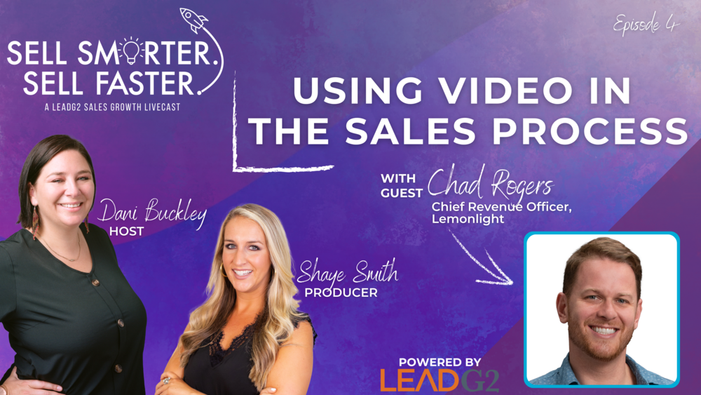 Using Video in the Sales Process | Sell Smarter. Sell Faster.