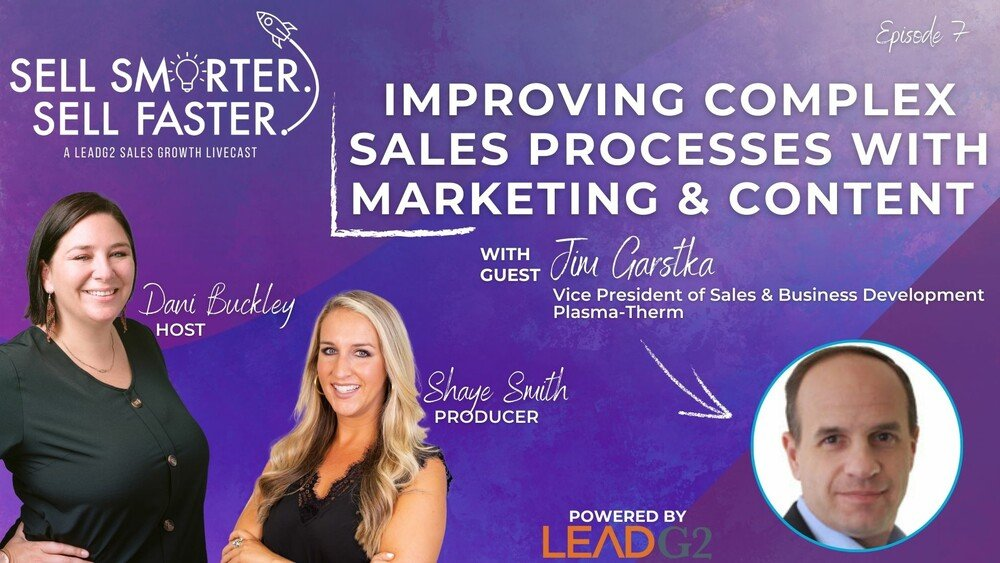 Improving Complex Sales Processes with Marketing & Content